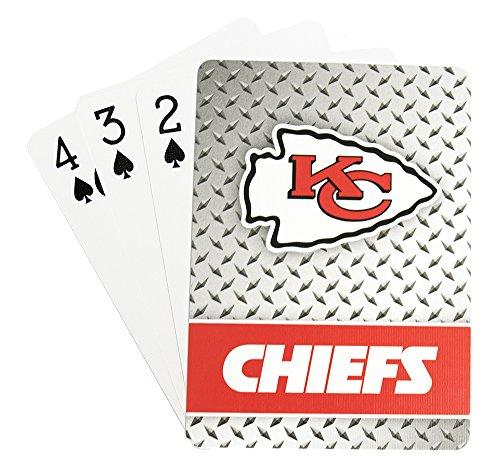 Pro Specialties Group NFL Spielkarten, Kansas City Chiefs, Standard Size (Chiefs Spielen Karten)