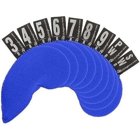 Club Glove, 9 pezzi, Regular, in Neoprene, per ferro da stiro, blu
