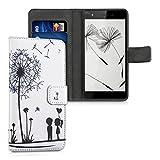 kwmobile Wallet Case Kunstlederhülle für Wiko Pulp 4G