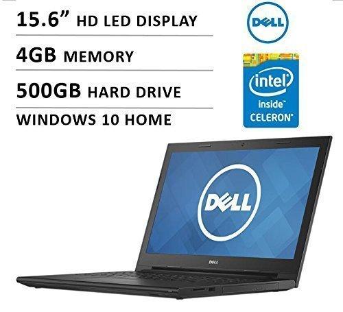 2016 Dell Inspiron i3542-0000blk 15.6″ Premium High Performance Laptop, Intel Celeron Dual-Core Processor 2957U, 4GB, 500GB, HD LED-backlit Display, WiFi, HDMI, Bluetooth 51p9L1UHTaL