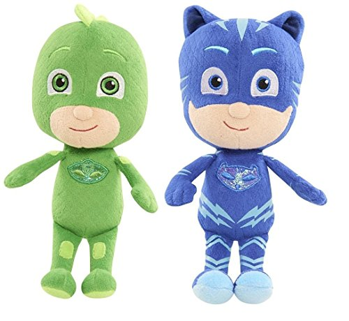 PJ Masks Plush Bundle - Gekko and Catboy - 2 Items Supplied