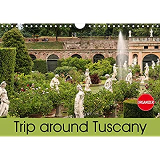 Trip to Tuscany (Wall Calendar 2020 DIN A4 Landscape): From Pisa and Lucca to Florence (Birthday calendar, 14 pages ) (Calvendo Places)