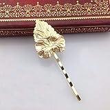 Knncch Dreiteilige Haarschmuck Europäische und Amerikanische Blätter Eine Schöne Mappe Schöne Braut Haarspangen Schöne Haarschmuck Gold