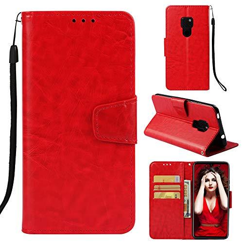 Qkldm Huawei Mate 20 Lite Portefeuille Téléphone Stand Couverture avec Slots Carte de Crédit Flip étui de Protection Etui Coque pour Huawei Mate 20 Lite Coque (5) par  Qkldm