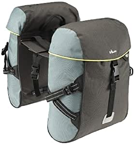 Btwin Pannier-Bag and Rack, Adult 2X15 Large