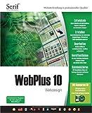 WebPlus 10 Webdesign, CD-ROM Website-Erstellung in professioneller Qualität- E-Commerce-Support für den eigenen Web-Shop! Für Windows 98SE/ME/2000/XP