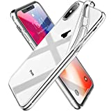 AGGEND [Liquid Crystal] Coque iPhone XS/Coque iPhone X, Ultra Fine TPU Silicone...