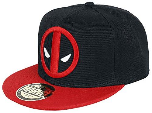 Preisvergleich Produktbild Marvel Baseball Cap Snapback Deadpool (schwarz/rot)
