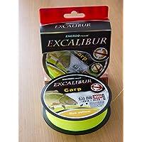 Energo Team Excalibur Fluo Yellow 300m 0,20mm Karpfenschnur Angelschnur Angelsehne Schnur Monoschnur Monofile Schnur Line