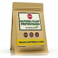Vive Vegan Protein Powder Blend, Peanut Butter Flavour | Plant Based - Rice & Pea (250g)