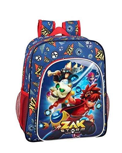 Zak Storm Captain Zak Mochila Junior niño Adaptable Carro