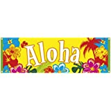 Boland 52505 - Striscione Banner Hawaii Aloha, 74 x 220 cm