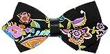 OCIA® Unisex klassische Herren Handgefertigt Baumwolle Vor-gebunden Klassische Fliege (Einheitsgröße, OCIAMD001-FD006)