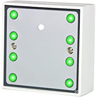 Hoyles S1788PG High Power Sounder with 8 Ultra Bright Green Leds, 12 V, White - ukpricecomparsion.eu