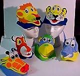 Madcaps Animal Foam Cap Kids (Set of 5)