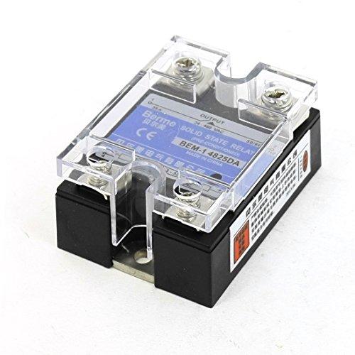DealMux DC-AC Single Phase Halbleiterrelais 25A 24-480VAC 3-32VDC -