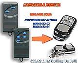 NOVOFERM NOVOTRON MNHS433-02, MNHS433-04 compatible mando a destancia 433,92Mhz rolling code, 4-canales reemplazo transmisor Al mejor precio!!!
