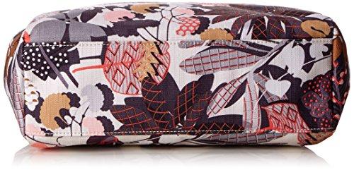 Oilily Damen Handbag Henkeltasche, 12 x 23.5 x 30 cm Grau (Charcoal)
