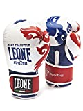 Leone 1947 GN031 Guantes de Boxeo, Unisex – Adulto, Blanco, 14OZ