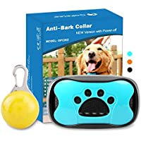 [Gesponsert]GoPetee Neuste 3in1 Anti-Bell Halsband für Hunde Ohne Schock Spray Vibrationshundehalsband,Hundebellen Stoppen mit Ton & Vibration,7 Verstellbare Stufen,sicher und Harmlos