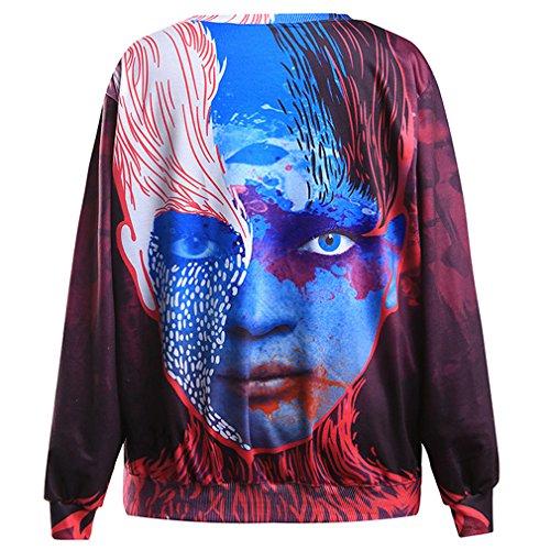 THENICE Femme Hip-Hop sport Sweat-shirts Alien