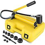 Mophorn 10T Hydraulischer Blechlocher Punch Set Metall Kit Pumpe