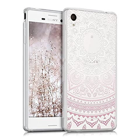 Coque Telephone Sony Xperia M4 - kwmobile Étui transparent en TPU silicone pour