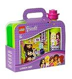 LEGO Lizenzkollektion 40591716 - Friends Frühstücksset mit Brotdose und Trinkflasche, grün