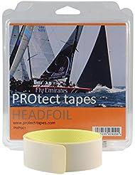 Protect Tapes headfoil cinta protección strallo Cable, gris claro, única