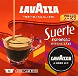 Lavazza A Modo Mio Capsule Caffè Espresso Suerte - Confezione da 60 Capsule