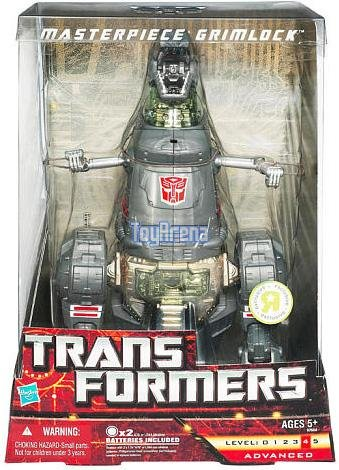 Transformers Universe Exclusive Deluxe Figure Masterpiece Grimlock by Hasbro (English Manual)