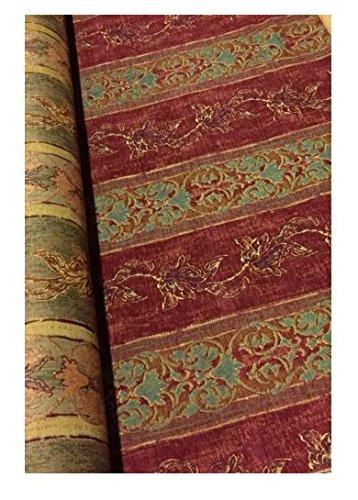 telas-de-brocado-jacquard-pesado-tapiceria-ameublement-velour-ras-a-aspecto-acabado-antiguo-500-g-m2