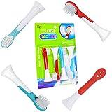 ITECHNIK Testine di ricambio Per Philips Sonicare Kids Small spazzolino da denti, Pienamente compatibile con i seguenti spazzolini elettrici Philips: Tutti Sonicare for Kids Models,4 Pcs