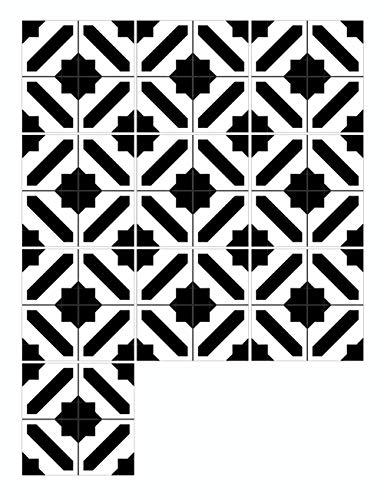 AIEOE - Conjunto 10 pcs Pegatina Azulejo Protección