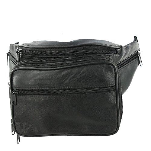 Silver Fever borsa a tracolla con borchie Nero 1