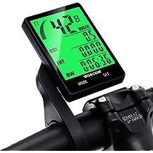 Bicicleta Cuentakilómetros Cableado, SGODDE Impermeable LCD Pantalla de 2,8 Pulgadas Activación Automática Luz