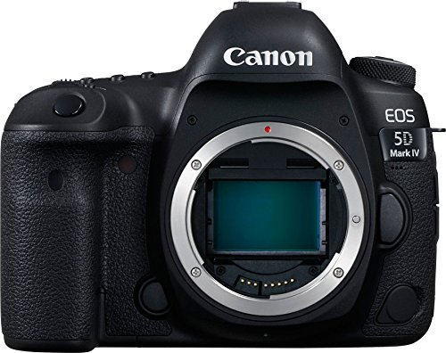 Canon EOS 5D Mark IV 30.4MP Digital SLR Camera  Black  with Body Only Digital SLR Cameras