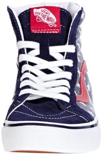 Vans Sk8-Hi, Chaussures Basses Homme Bleu