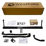 Starre Westfalia Anhängerkupplung für Megane Grandtour (BJ ab 06/2009) im Set mit 13-poligem fahrzeugspezifischen Westfalia Elektrosatz