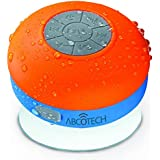 [New Arrival] Abco Tech Water Resistant Bluetooth Shower Speaker + FM Radio & Handsfree speakerphone - - Compatible with all Bluetooth Devices, iPhone 5 Siri and All Android devices ★★ Charges via Micro USB ★★