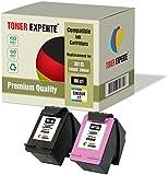 Set of 2 XL TONER EXPERTE® Compatible with HP 301XL Remanufactured Ink Cartridges for HP DeskJet 1000, 1050, 1050A, 1050S, 1055, 2000, 2050, 2050A, 2050S, 2050SE, 2054A, 2510, 2540, 3000, 3010, 3050, 3050A, 3050S, 3050SE, 3050VE, 3052A, 3054A, 3055A