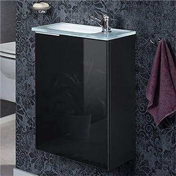 Amazon.de: Fackelmann Gäste WC Set KARA / Waschbecken mit