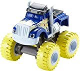 Blaze and the Monster Machines - Coche Crusher Lluvia de Bananas, Color Azul (Fisher-Price DKV74)