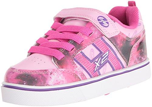 Heelys Mädchen X2 Bolt Turnschuhe, Pink (Pink/Purple/Space), 35 - Heelys X2 Mädchen