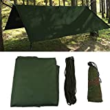 Dioche Tente de Camping Tarp Shelter, extérieur Portable Léger et étanche Pluie...
