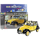 Revell Modellbausatz Auto 1:24 - Citroen 2CV Ente Charleston im Maßstab 1:24, Level 4, originalgetreue Nachbildung...