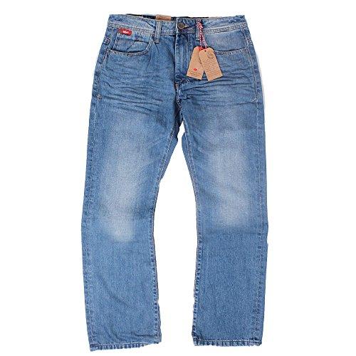 """Mens Lee Cooper Jeans Bootcut luce lavare Carter """"30"""" 32""""34363840"""" Blue 30W x 32L"""