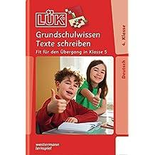 LÜK: Grundschulwissen Texte schreiben