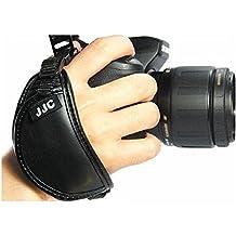 JJC hs-a Piel Auténtica Correa de mano para cámara