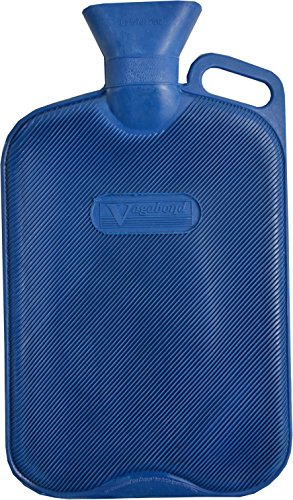 Vagabond Bags 2,7Liter extra große geriffelte blau Hot Wasser Flasche
